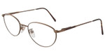 Marcolin 6362-447 Metal Reading Glasses in Bronze-Tortoise