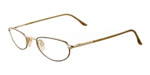 Marcolin 7215-507 Metal Reading Glasses in Gold
