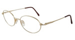 Marcolin 7216-216 Metal Reading Glasses in Gold