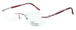 Totally Rimless Designer Eyeglasses TR141-PNK in Pink :: Custom Left & Right Lens