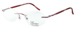 Totally Rimless Designer Reading Glasses TR141-PNK in Pink