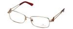 Swarovski Designer Eyeglasses Architect SK5020-28A in Gold :: Rx Bi-Focal