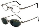 Magnetic Clip-On 253 Polarized Reading Sunglasses