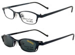 Magnetic Clip-On 603 Polarized Reading Sunglasses
