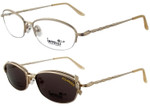 Magnetic Clip-On 716 Polarized Reading Sunglasses