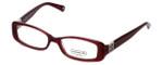 Coach Womens Designer Eyeglasses 'Savannah' HC6006B in Berry (5041) 51mm :: Rx Single Vision