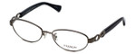 Coach Womens Designer Eyeglasses 'Stacy' HC5062 in Dark Silver Black (9017) 54mm :: Rx Bi-Focal