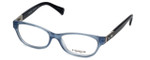 Coach Womens Designer Eyeglasses 'Emma' HC6061 in Milky Blue (5259) 50mm :: Rx Bi-Focal