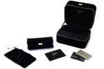 Giorgio Armani Authentic Eyeglass Carrying & Display Case Set Luxury Velvet Edition