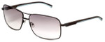 TAG Heuer Designer Sunglasses TH0882-115 in Pewter & Brown Gradiant