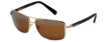 TAG Heuer Designer Sunglasses TH0984-203 in Gold & Brown