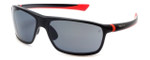 TAG Heuer Designer Sunglasses TH6023-102 in Black & Grey