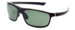 TAG Heuer Designer Polarized Sunglasses TH6023-301 in Black & Green