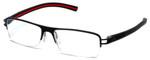 Tag Heuer Designer Reading Glasses TH7624-006 in Matte-Black 57mm