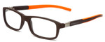 Tag Heuer Designer Reading Glasses TH9312-004 in Brown 56mm