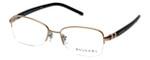 Bvlgari Designer Eyeglasses 2178-376 in Copper-Black 52mm :: Rx Bi-Focal