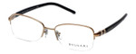 Bvlgari Designer Reading Glasses 2178-376 in Copper-Black 52mm