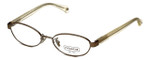 Coach Womens Designer Eyeglasses 'Randi' HC5032 in Sand (9002) 50mm :: Progressive