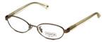 Coach Womens Designer Eyeglasses 'Randi' HC5032 in Sand (9002) 50mm :: Rx Bi-Focal