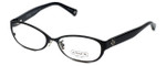 Coach Womens Designer Eyeglasses 'Ashby' HC5029 in Satin-Black (9077) 53mm :: Custom Left & Right Lens