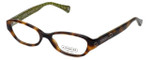 Coach Womens Designer Eyeglasses 'Delaney' HC6015 in Tortoise (5031) 48mm :: Rx Single Vision