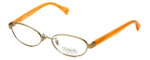 Coach Womens Designer Eyeglasses 'Randi' HC5032 in Gold (9072) 50mm :: Rx Bi-Focal