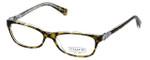 Coach Womens Designer Eyeglasses 'Elise' HC6014 in Tort-Crystal (5049) 50mm :: Rx Bi-Focal