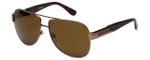 Harley-Davidson Official Designer Sunglasses HDX821-BRN in Brown Frame with Amber Lens