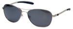 Harley-Davidson Official Designer Sunglasses HDX877-SI in Silver Frame with Grey Lens