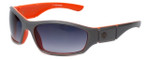 Harley-Davidson Official Designer Sunglasses HDX887-GRY in Grey Frame with Gradient-Grey Lens