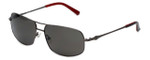 Harley-Davidson Official Designer Sunglasses HDX894-GUN in Gunmetal Frame with Grey Lens