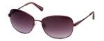 Kenneth Cole Designer Sunglasses KC7028-69Z in Burgundy Frame with Burgundy Gradient Lens