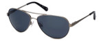 Kenneth Cole Designer Sunglasses KC7029-07A in Stainless Frame with Grey Lens