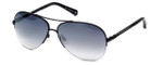 Kenneth Cole Designer Sunglasses KC7062-02C in Black Frame with Grey Gradient Lens