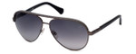 Kenneth Cole Designer Sunglasses KC7129-13B in Gunmetal Frame with Grey Gradient Lens