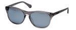 Kenneth Cole Designer Sunglasses KC7134-20A in Smoke Frame with Grey Gradient Flash Lens