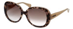 Kenneth Cole Designer Sunglasses KC7160-55F in Coloured-Havana Frame with Brown Gradient Lens