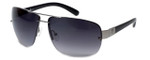 Guess 'G-By-Guess'  Designer Sunglasses Series GGU2044 in Gunmetal Frame with Grey Gradient Lens