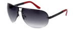 Guess  Designer Sunglasses GU6593 in Black Frame with Grey Gradient Lens