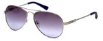 Guess  Designer Sunglasses GU7228 in Silver Frame with Purple Gradient Lens