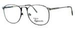 Fashion Optical Designer Eyeglasses E2038 in Grey Demi & Antique Pewter 51mm :: Custom Left & Right Lens