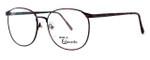 Fashion Optical Designer Eyeglasses E126 in Russet 56mm :: Custom Left & Right Lens