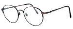 Fashion Optical Designer Eyeglasses E303 in Antique Brown & Demi Brown :: Custom Left & Right Lens