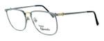 Fashion Optical Designer Eyeglasses E2055 in Gunmetal 57mm :: Custom Left & Right Lens