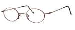 Regency International Designer Eyeglasses SL503 in Antique Bronze 48mm :: Custom Left & Right Lens