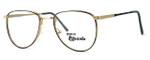 Regency International Designer Eyeglasses Dover in Gold Grey 52mm :: Custom Left & Right Lens