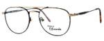 Regency International Designer Eyeglasses Geoffrey Antique & Gold Tortoise 53mm :: Custom Left & Right Lens