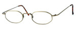 Regency International Designer Eyeglasses SL510 in Antique in Gold 46mm :: Rx Single Vision