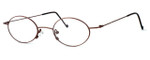 Regency International Designer Eyeglasses SL503 in Antique Bronze 48mm :: Rx Single Vision
