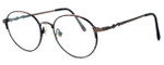 Fashion Optical Designer Eyeglasses E303 in Antique Brown & Demi Brown :: Progressive